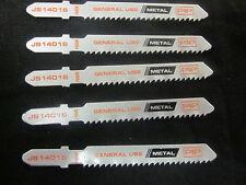 """25pc 3"""" T-SHANK 12-TPI JIGSAW SHEET METAL BLADES JIG SAW GENERAL USE T118B CUT"""