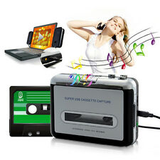 PC MP3 Ipod CD USB Cassette-to-MP3 Converter Capture Audio Music Player