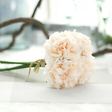 Artificial Silk Fake Flower Peony Floral Wedding Bouquet Bridal Home Decor 5Head
