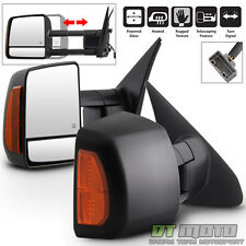 2007-2017 Toyota Tundra 08-17 Sequoia Power Heated LED Signal Tow Side Mirrors