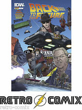 IDW BACK TO THE FUTURE #2 COVER A NEW/UNREAD BAGGED & BOARDED