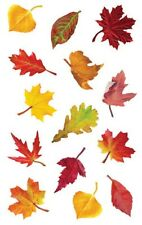 Mrs. Grossman's Giant Stickers - Falling Leaves - Shiny Tree Leaf - 2 Strips