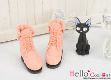 ☆╮Cool Cat╭☆【06-06】Blythe Pullip Doll Short Shoes.Pink Coral