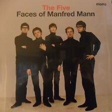 Manfred Mann ‎– The Five Faces Of Manfred Mann - LP OVP -  Umbrella Music