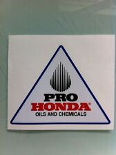 "Pro Honda Reproduction Decal 3.875"" CR XR Z50 XR80"