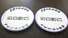 PAIR OF 1998 STAFFORDSHIRE FRIENDS TV SERIES PLATES 18CM