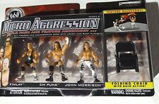 WWE MICRO AGGRESSION FINLAY CM PUNK JOHN MORRISON COLLECTIBLE