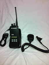 One Motorola MTS2000 800 Mhz radio H38 W/ Programming Security Police fire EMS
