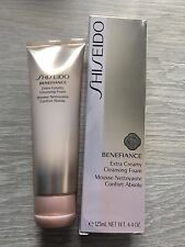 Shiseido Benefiance Extra Creamy Cleansing Foam 125ml/4.4oz NIB
