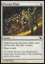 4x Fuochi Fatui Perlacei - Niveous Wisps MTG MAGIC SM Shadowmoor Ita