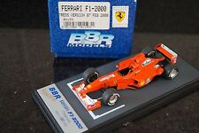 1/43 BBR Ferrari F1-2000 Press Schumacher / Barrichello BG193 - missing mirror