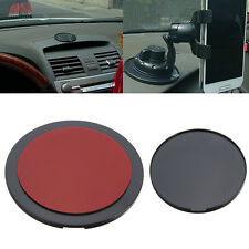 Car Dashboard Adhesive Mount Disc Pad For GPS Mobile Phone Suction Cap Holder jd