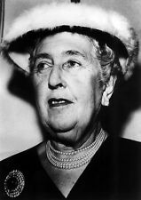 Agatha Christie UNSIGNED photo - P1519 - Crime novelist & short story writer