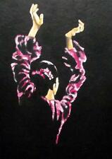 Flamenco Dancer 3 : Daily Impressionist Original Oil Painting by Terry  Wylde