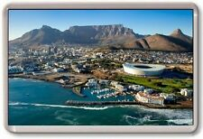 FRIDGE MAGNET - CAPE TOWN - Large Jumbo - South Africa Aerial