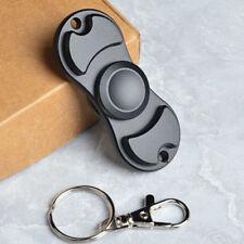 Fidget Spinner EDC Hand Spinner Toy Aluminum Custom Bearing Fidget Toys Black