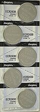 12 Pcs Energizer 2430 CR 2430 CR2430 ECR2430BP 3V Lithium Coin Cell Battery