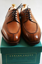 Edward Green Dover Edwardian Antique Handsewn Calf Split Toe Size US10 UK9.5