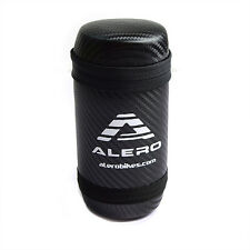 Alero PU 15cm Black Bike Bicycle Cycling Tool Bottle Case - White
