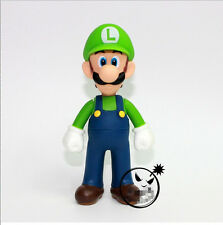 "New Super Mario Bros. - 5"" Luigi Action figures Doll Free SHIPPING"