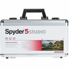 DATACOLOR Spyder 5 studio spyderstudio VALIGIA WIN & Mac Merce Nuova