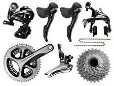 2016 Shimano Dura Ace Group 9000 11s Groupset Kit Group Set NEW incl. 2 Chains