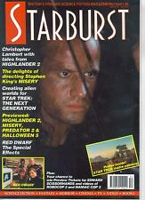 Starburst Number 152 Britain's Premier Sci-Fi Mag, Red Dwarf, Star Trek, Robocop