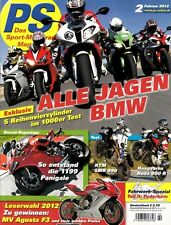 PS1202 + BMW S 1000 RR vs. YAMAHA YZF-R1 und andere + PS 2/2012