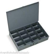 4 Large Metal 16 Compartment / Hole Storage tray's for Nuts, Bolts & Washers 113