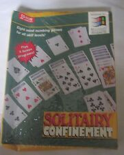 New Solitary Confinement CD-Rom Computer Game for Microsoft Windows 95 + 8 Bonus
