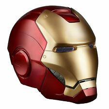 *Marvel Legends Iron Man Electronic Helmet + Instructions - 2 LED Light Up Eyes*