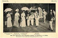 Die drei Schwestern des Deutschen Kaisers in Homburg v. d. Höhe Memorabile 1900