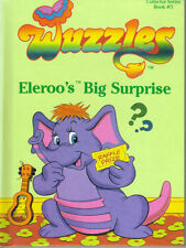 WUZZLES - ELEROO'S BIG SURPRISE - DISNEY HASBRO 1984 HB FIRST EDITION - VG COND