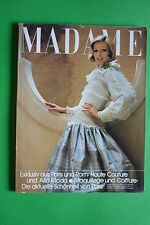 MADAME magazine marz n.3 1975  Vintage Fashion Alta Moda Paris Roma no Vogue