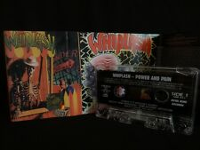 WHIPLASH Power And Pain + Ticket To Mayhem MC, CASSETTE two albums on one tape