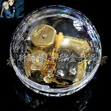 Transparent Oracle shape Music Box :  Ghibli Howl's Moving Castle Soundtrack