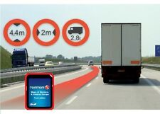 TomTom SD-Carte WORK Europe IQ TRUCK Camion + 45 Pays --  GPS Go Navigation #