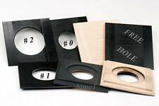 """1 LENS BOARD 3.25"""" x 3.25"""" for GRAFLEX  3a, or Early 3-1/4"""" x 5-1/2"""" , Sol.Maple"""