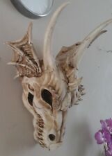 The Last Dragon Skull 49cm High Nemesis Now Gothic Wall Hanging Plaque