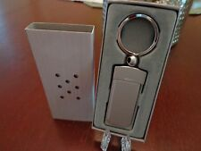 ZIPPO PROMOTIONAL PRODUCTS KEY RING MATTE CHROME MINT IN BOX