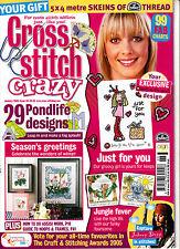 CROSS STITCH CRAZY Magazine #68 January 2005 @NEW@
