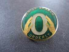 Senior Branch Orderly Scouts Badge