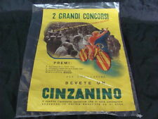 LOCANDINA RIVISTA 26°GIRO D'ITALIA E DI FRANCIA PROMO CINZANO CINZANINO