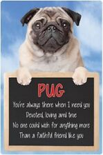 Pug 3D home hang up sign