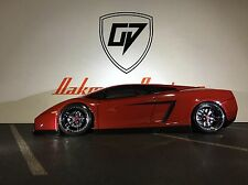 CUSTOM RC HPI # 7389 1/10 LAMBORGHINI GALLARDO DRIIFT BODY SHELL,  HPI
