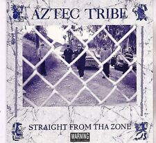 AZTEC TRIBE Straight From Tha Zone CD Rare San Diego OG Chicano Rap Dago G-funk
