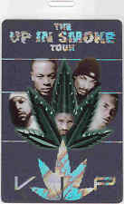 DR. DRE, SNOOP DOGG, ICE CUBE, EMINEM *UP IN SMOKE* VIP LAMINATE BACKSTAGE PASS