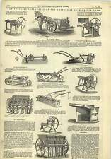 1845 Agricultural Implements Smithfield Club Cattle Show