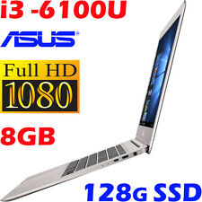 "ASUS Zenbook UX310UA-GL243T CORE i3-6100U 8GB 128GB SSD 13.3"" Full HD Win10-PRO"