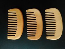Wood comb beard comb wide tooth comb massage hair accept LOGO makeup